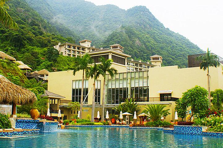 广州增城金叶子温泉度假酒店外观