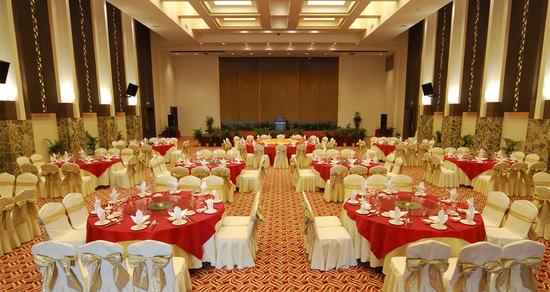 广州增城金叶子温泉度假酒店宴会厅